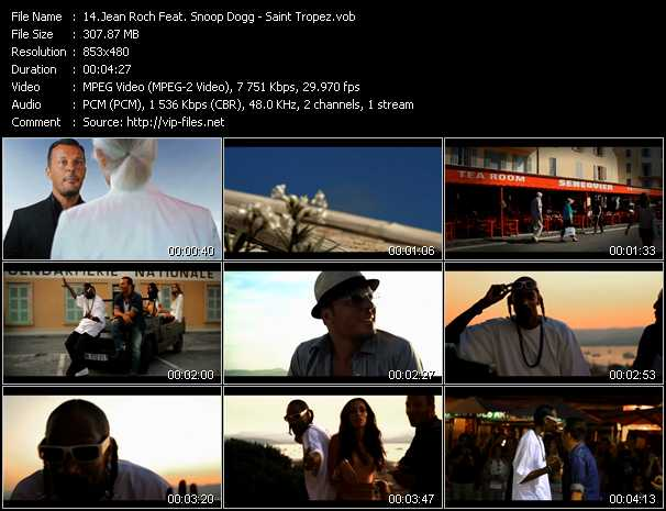 Jean Roch Feat. Snoop Dogg video screenshot