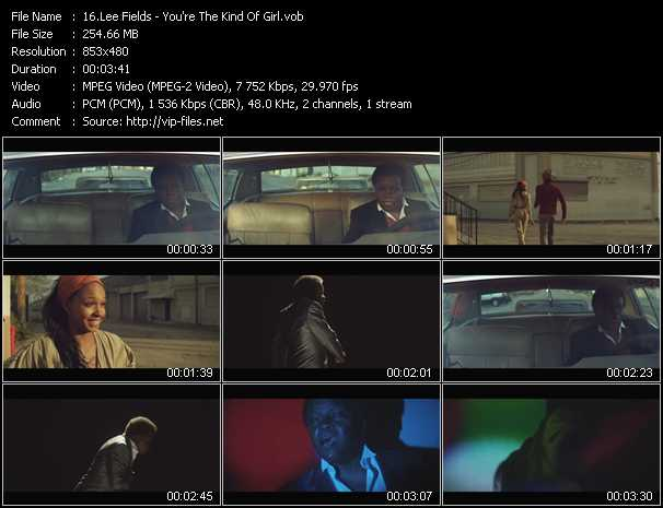 Lee Fields video screenshot