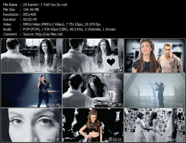 Karmin video screenshot