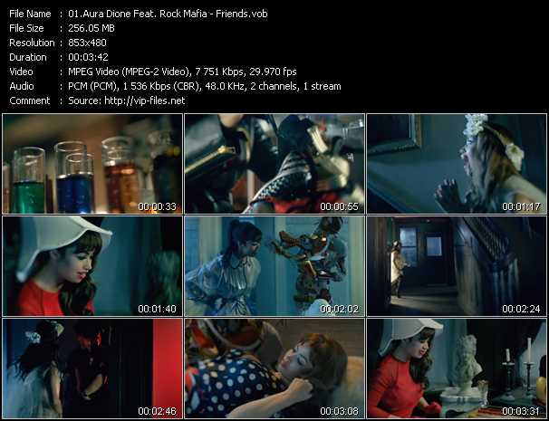 Aura Dione Feat. Rock Mafia video screenshot
