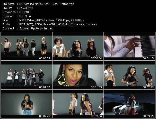 Natasha Mosley Feat. Tyga video screenshot