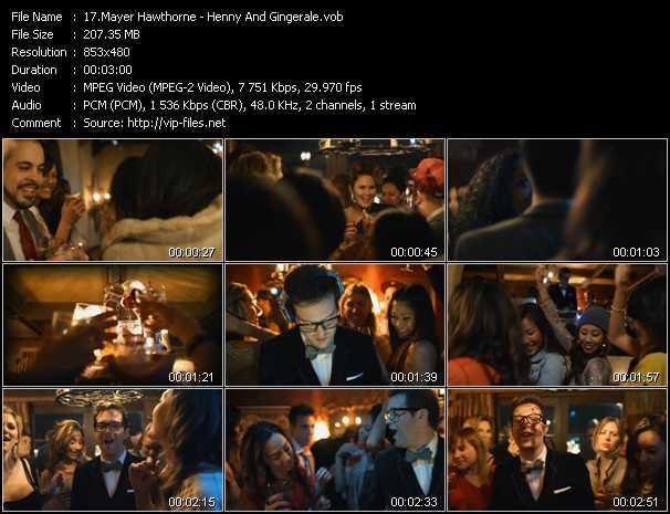 Mayer Hawthorne video screenshot