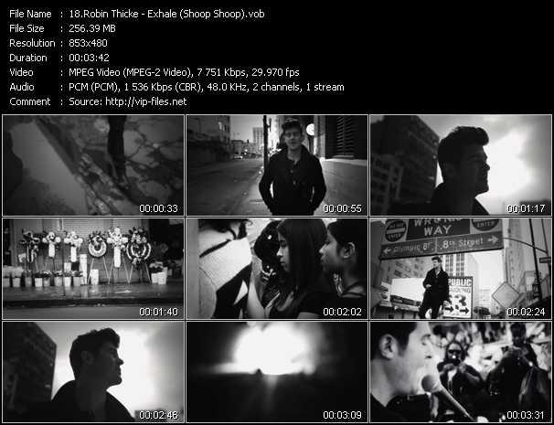 video Exhale (Shoop Shoop) screen