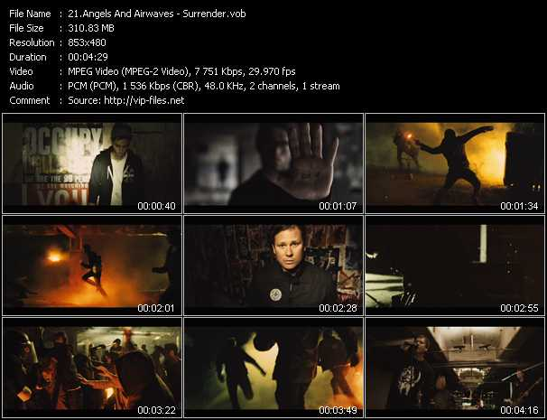 Angels And Airwaves video screenshot