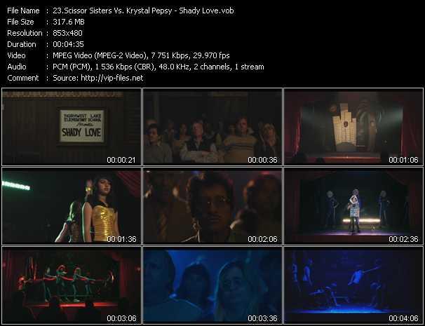 Scissor Sisters Vs. Krystal Pepsy video screenshot