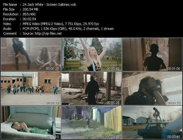 Jack White video screenshot