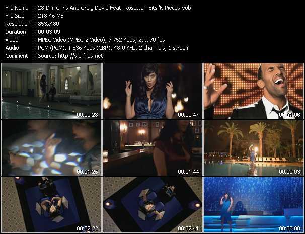 Dim Chris And Craig David Feat. Rosette video screenshot