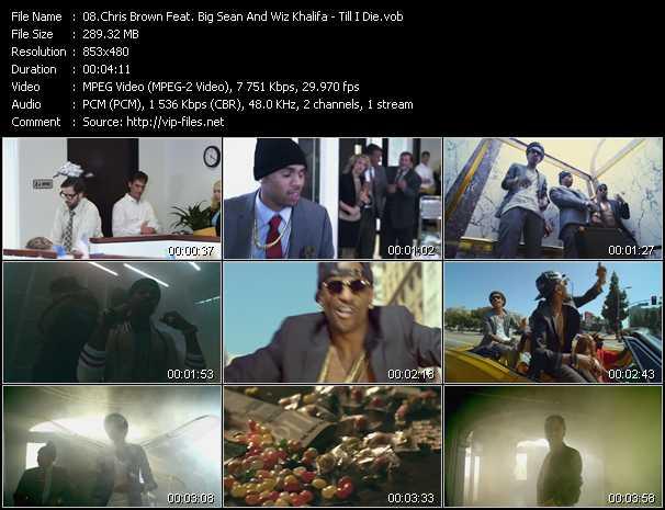 Chris Brown Feat. Big Sean And Wiz Khalifa video screenshot