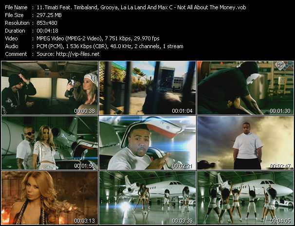 Timati Feat. Timbaland, Grooya, La La Land And Max'C video screenshot