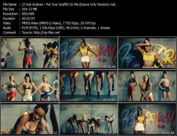 Kat Graham video screenshot