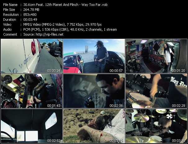 Korn Feat. 12th Planet And Flinch video screenshot