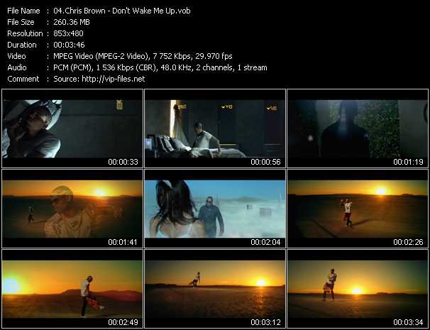 video Don't Wake Me Up screen