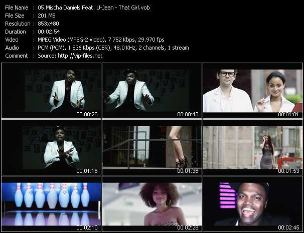 Mischa Daniels Feat. U-Jean video screenshot