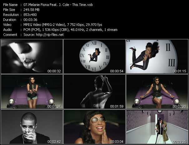 Melanie Fiona Feat. J. Cole video screenshot