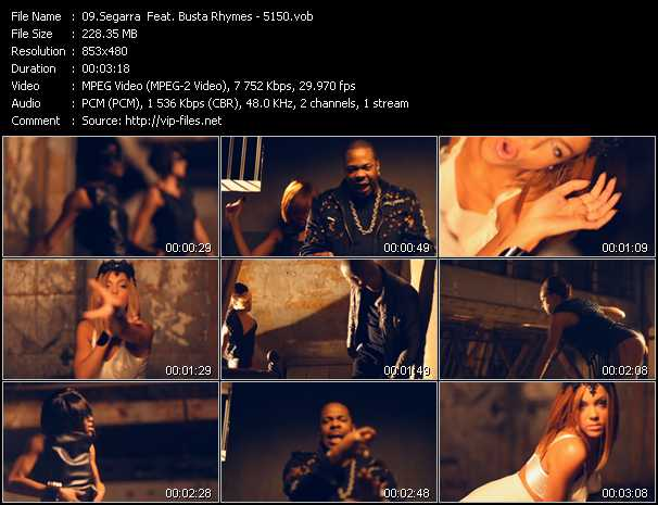 Segarra Feat. Busta Rhymes video screenshot