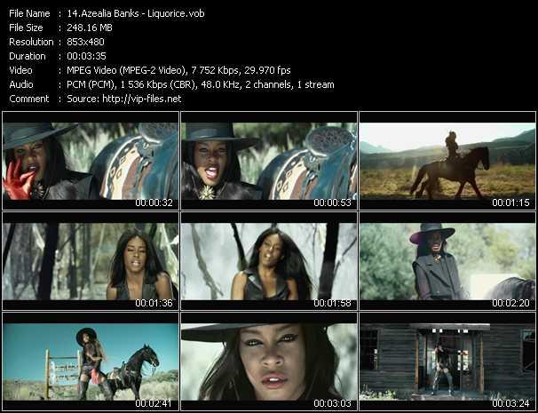 Azealia Banks video screenshot