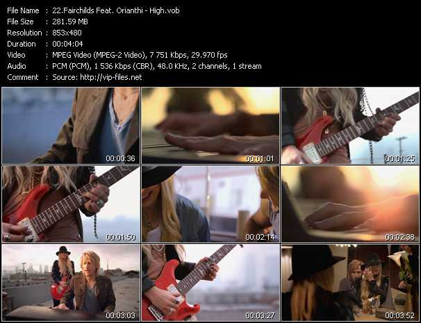 Fairchilds Feat. Orianthi video screenshot