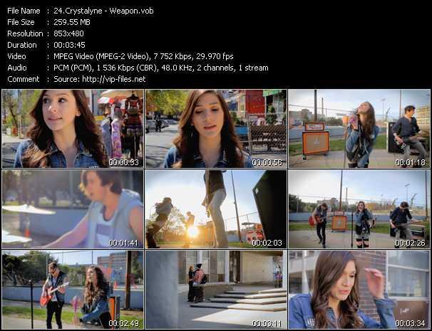 Crystalyne video screenshot