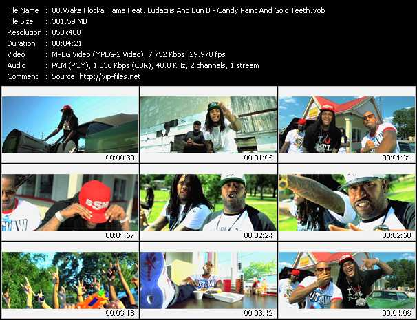 Waka Flocka Flame Feat. Ludacris And Bun B video screenshot