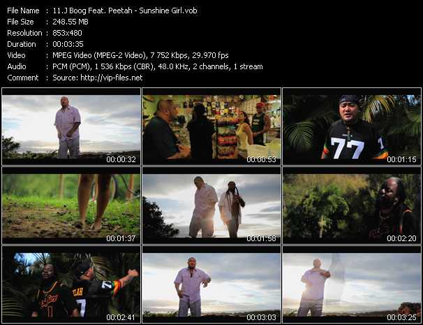 J Boog Feat. Peetah video screenshot