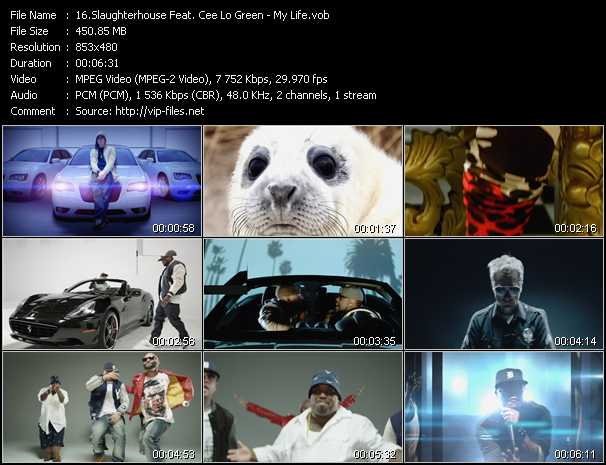Slaughterhouse Feat. Cee Lo Green video screenshot