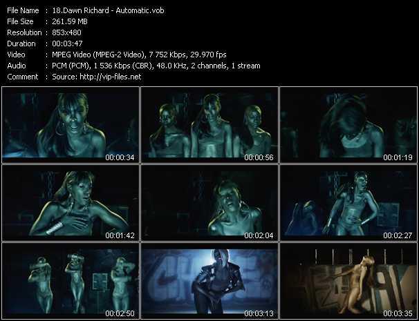 Dawn Richard video screenshot