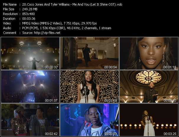 Coco Jones And Tyler Williams video screenshot