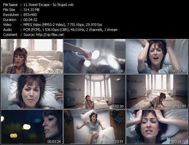 Sweet Escape video screenshot