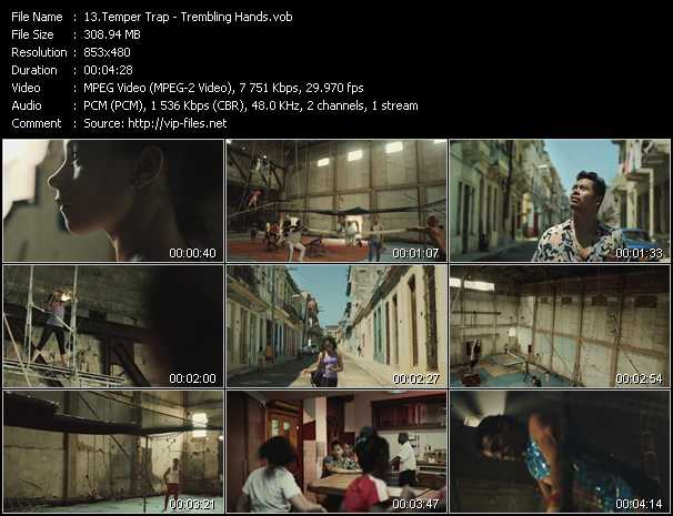 Temper Trap video screenshot