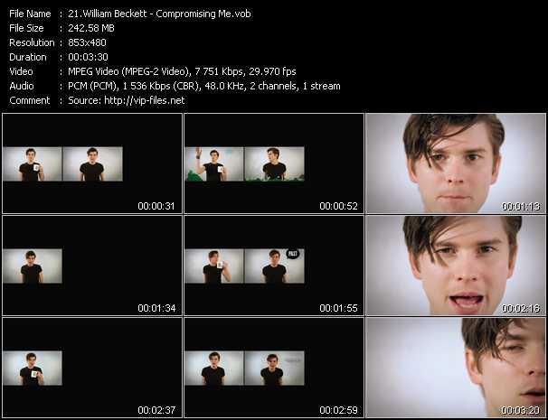 William Beckett video screenshot