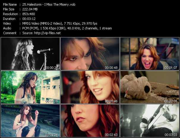 Halestorm video screenshot