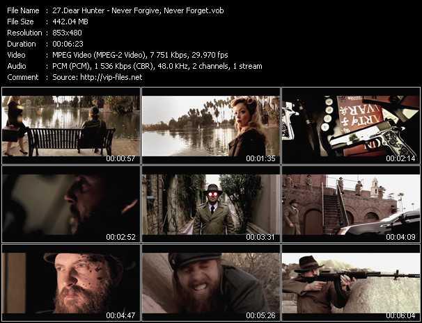 Dear Hunter video screenshot