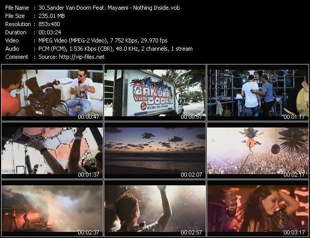 Sander Van Doorn Feat. Mayaeni video screenshot