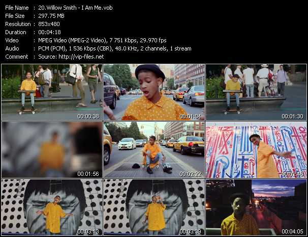 Willow Smith video screenshot