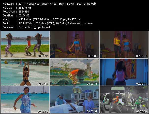 Mr. Vegas Feat. Alison Hinds video screenshot