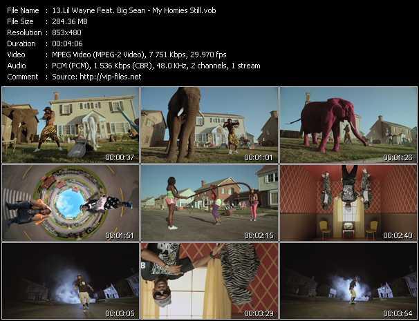 Lil' Wayne Feat. Big Sean video screenshot