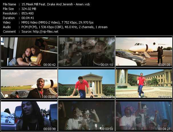 Meek Mill Feat. Drake And Jeremih video screenshot