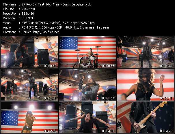 Pop Evil Feat. Mick Mars video screenshot