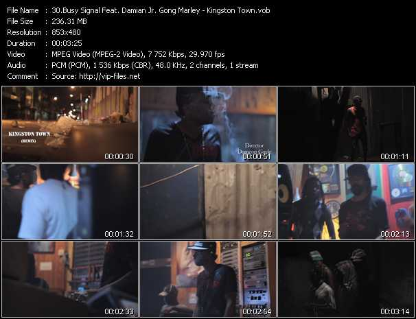 Busy Signal Feat. Damian Marley video screenshot