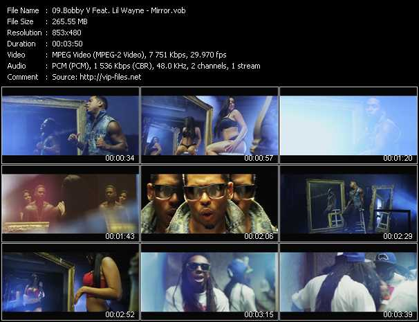 Bobby Valentino (Bobby V) Feat. Lil' Wayne video screenshot