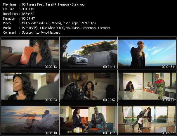 Tyrese Feat. Taraji P. Henson video screenshot