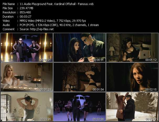 Audio Playground Feat. Kardinal Offishall video screenshot