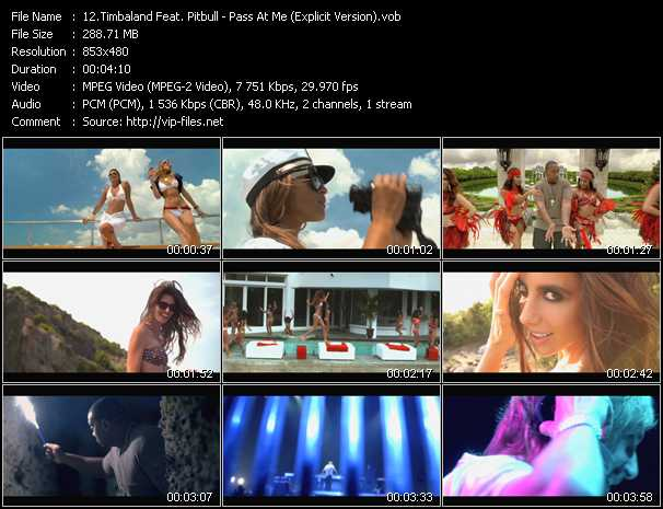 video Pass At Me (Explicit Version) screen