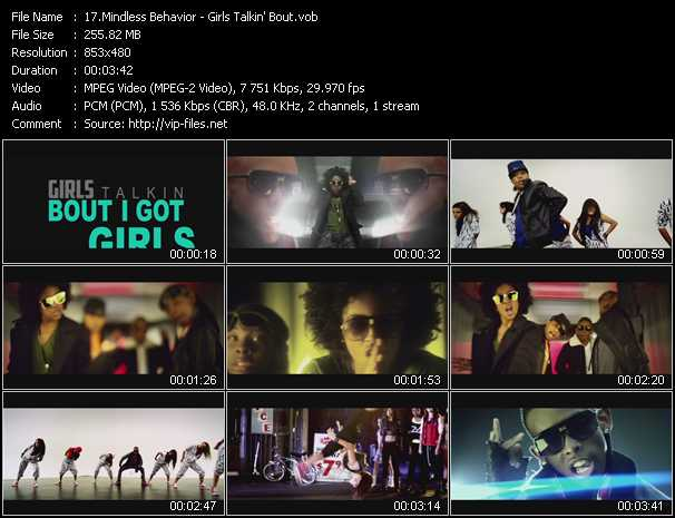 Mindless Behavior video screenshot