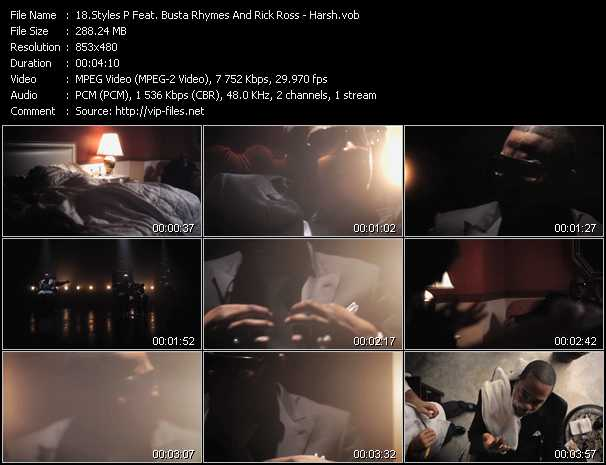 Styles P Feat. Busta Rhymes And Rick Ross video screenshot