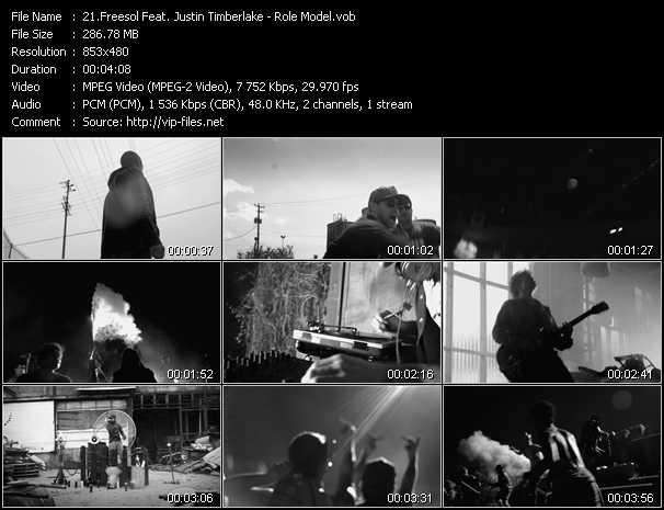 FreeSol Feat. Justin Timberlake video screenshot
