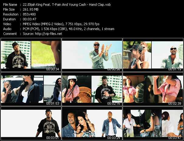 Elijah King Feat. T-Pain And Young Cash video screenshot