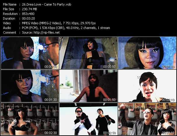 Drea Love video screenshot