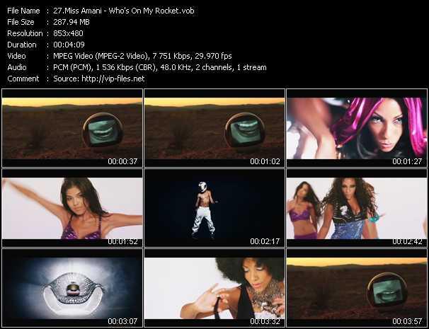 Miss Amani video screenshot