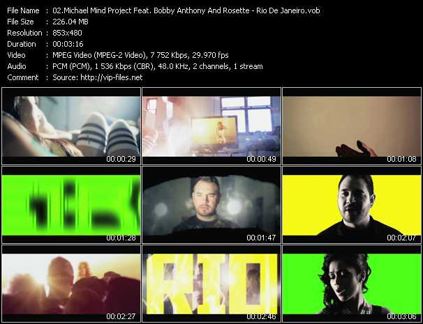 Michael Mind Project Feat. Bobby Anthony And Rosette video screenshot
